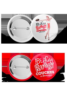 Goodies badges personnalisés