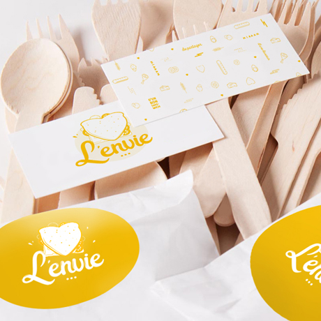 packaging couverts L'Envie