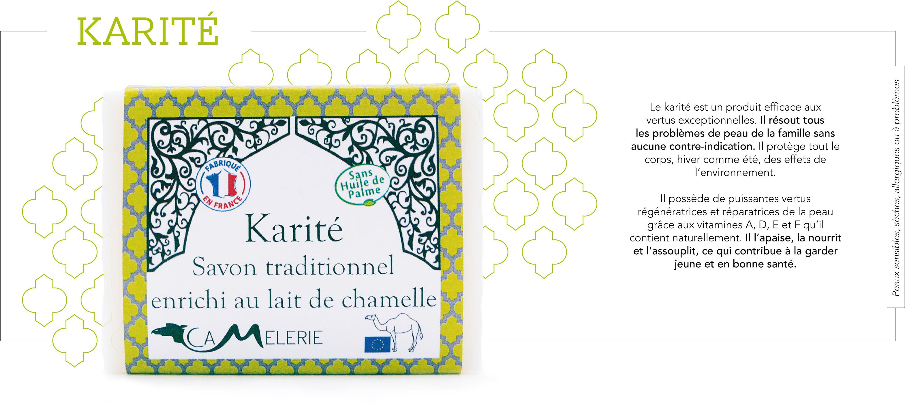 Descriptif savon Karité
