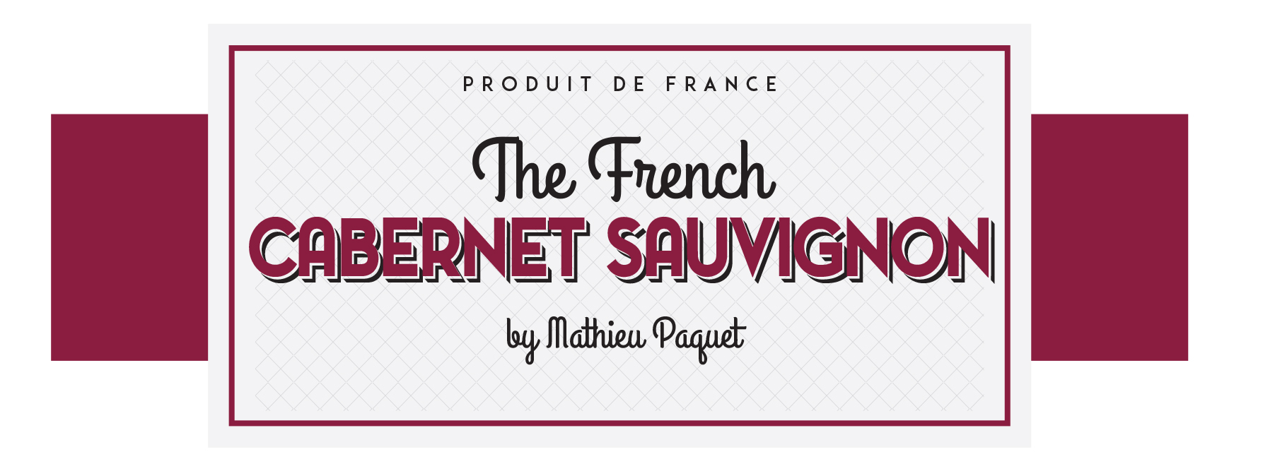 Étiquette The French Cabernet Sauvignon