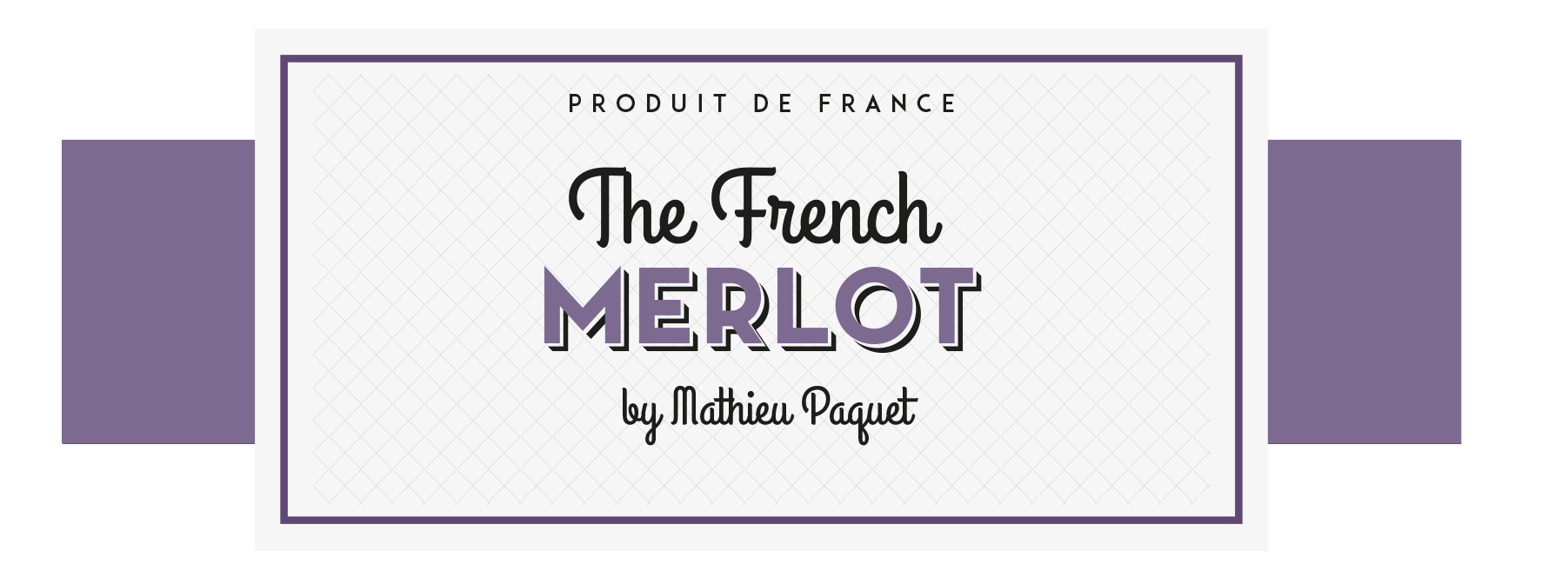 Étiquette The French Merlot