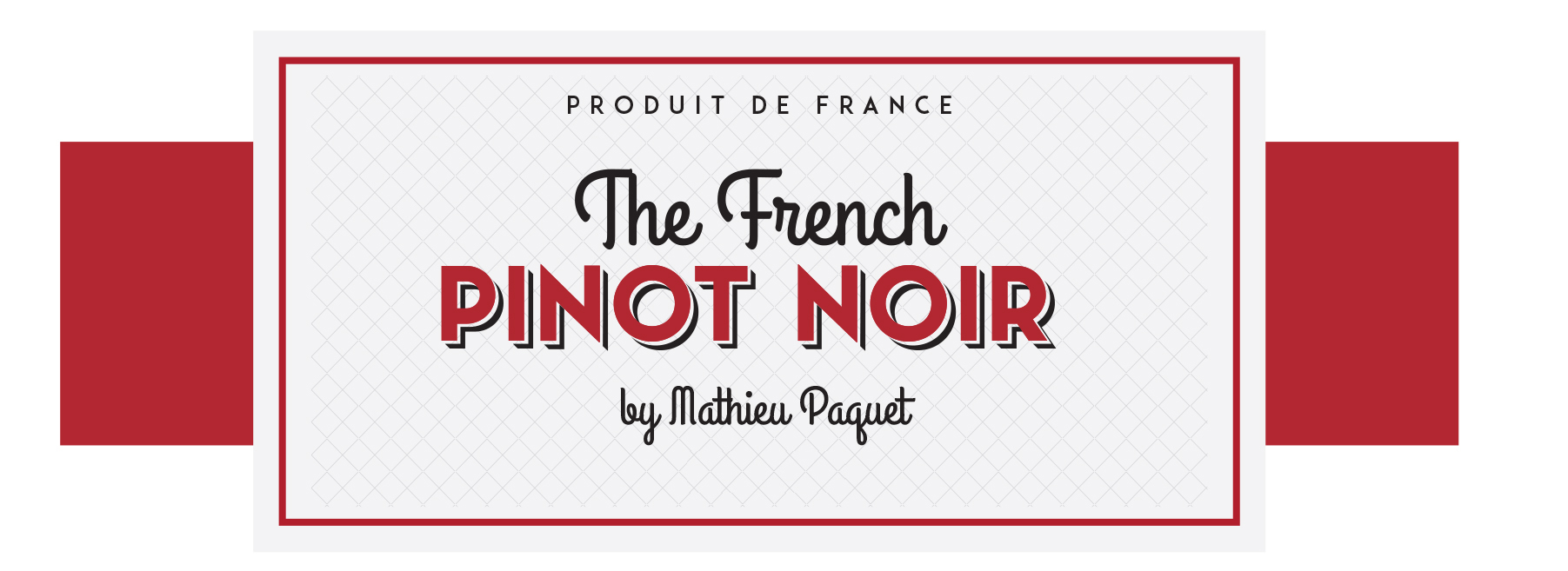 Étiquette The French Pinot Noir