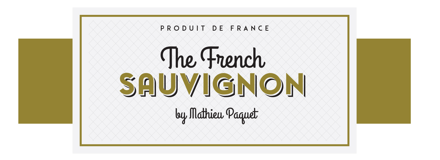 Étiquette The French Sauvignon