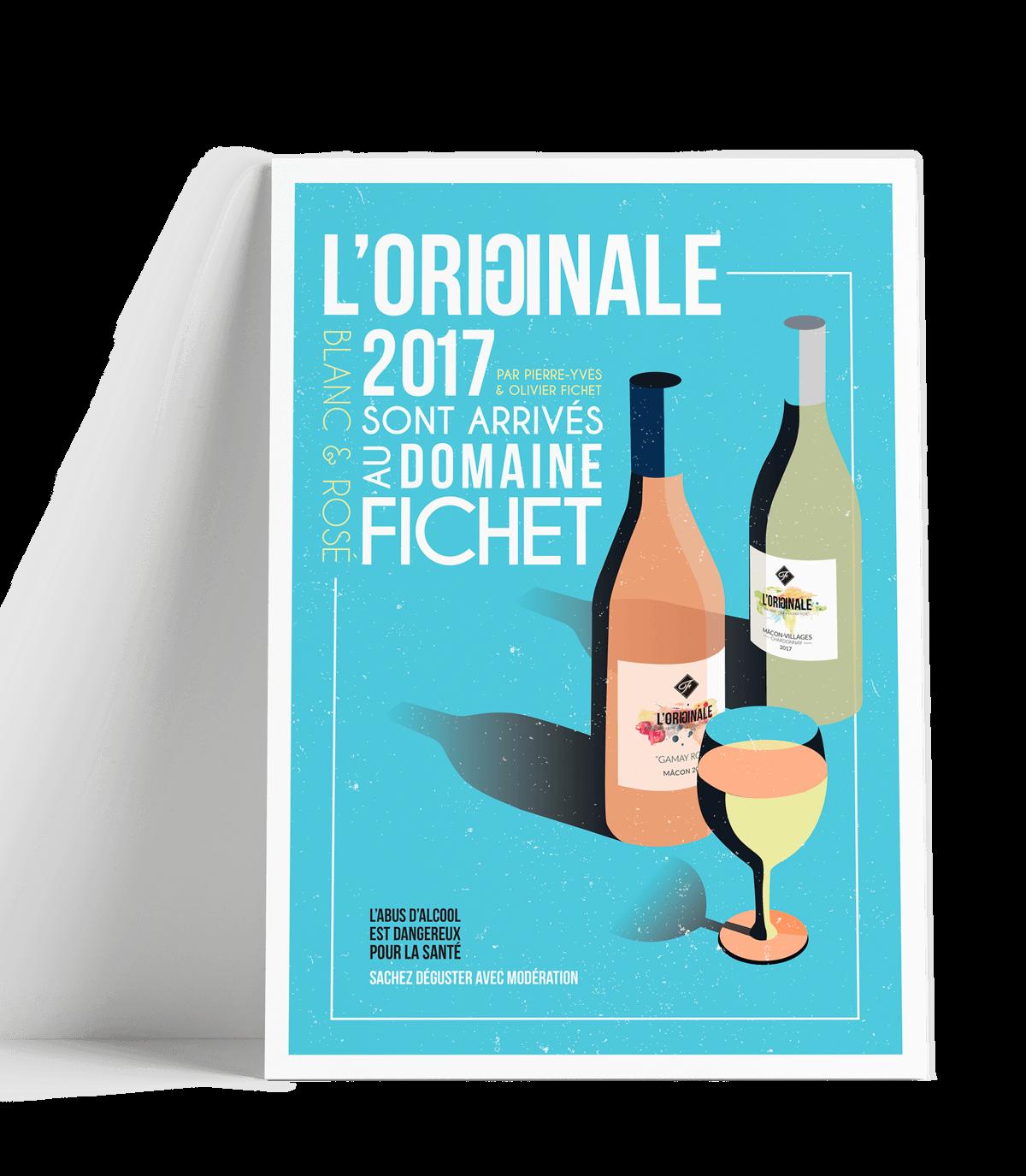 Affiche L'Originale 2017 Domaine Fichet
