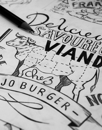 Croquis Jo Burger