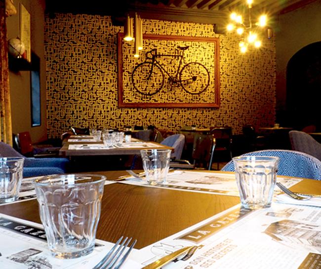 Mise en scene set de table La Maison de Bois