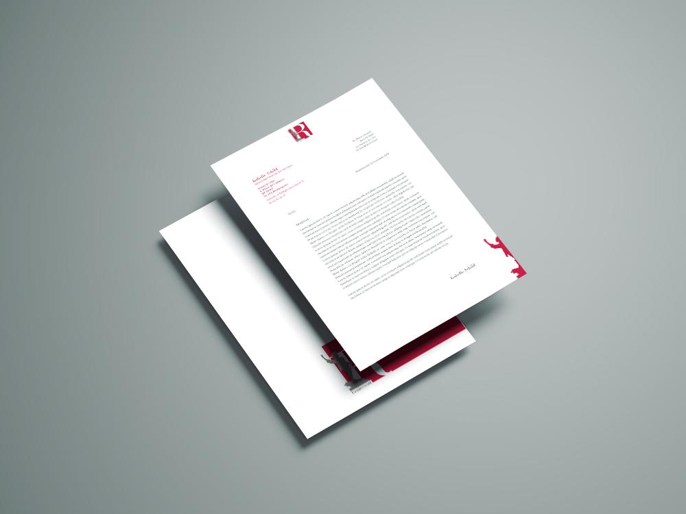 papier à lettre recto verso
