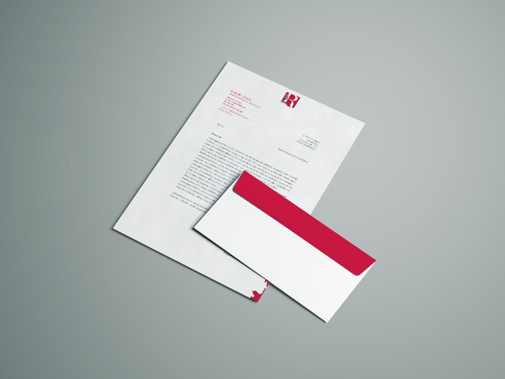 courrier et enveloppe