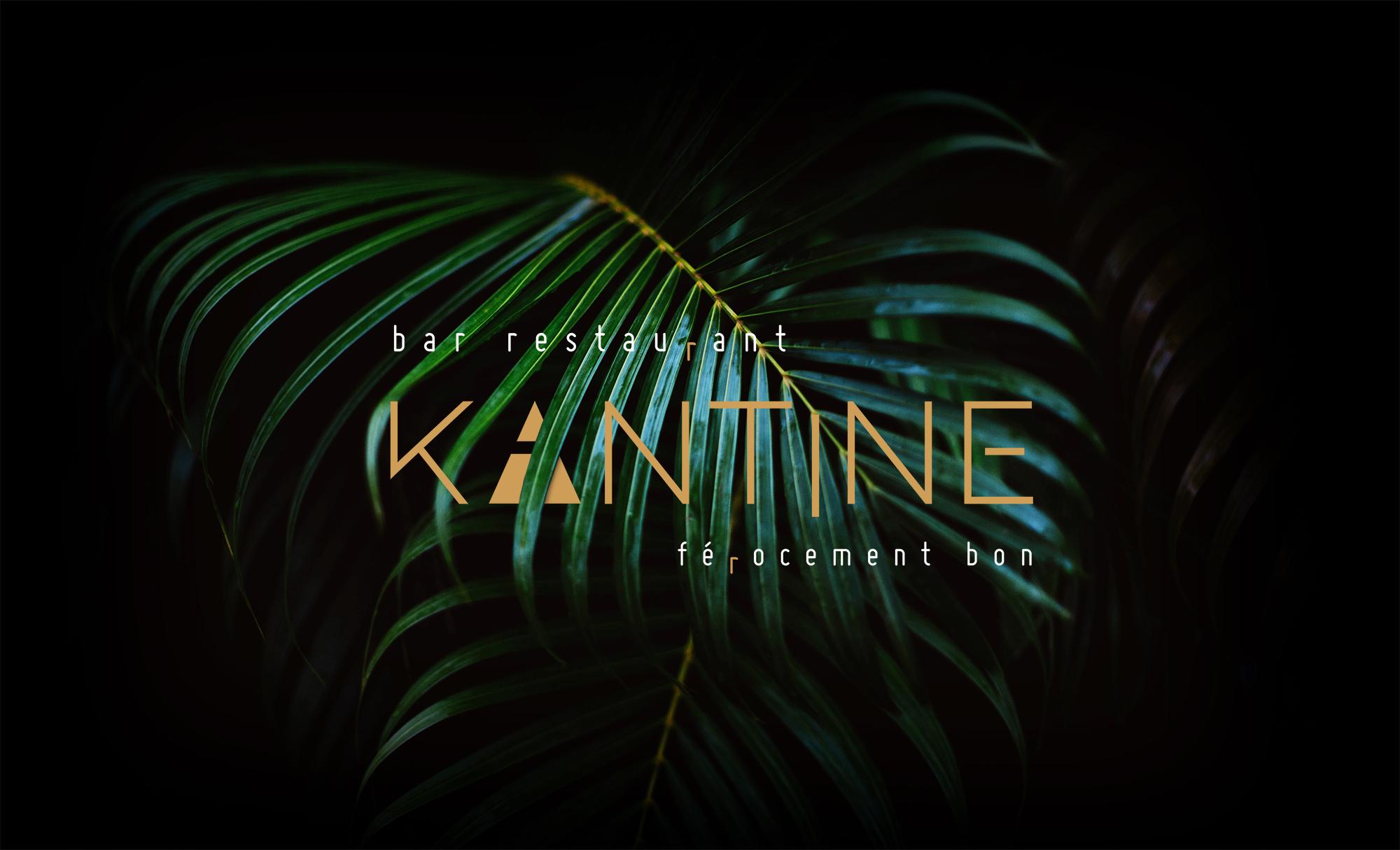 Palme Kantine Bar Restaurant Férocement Bon