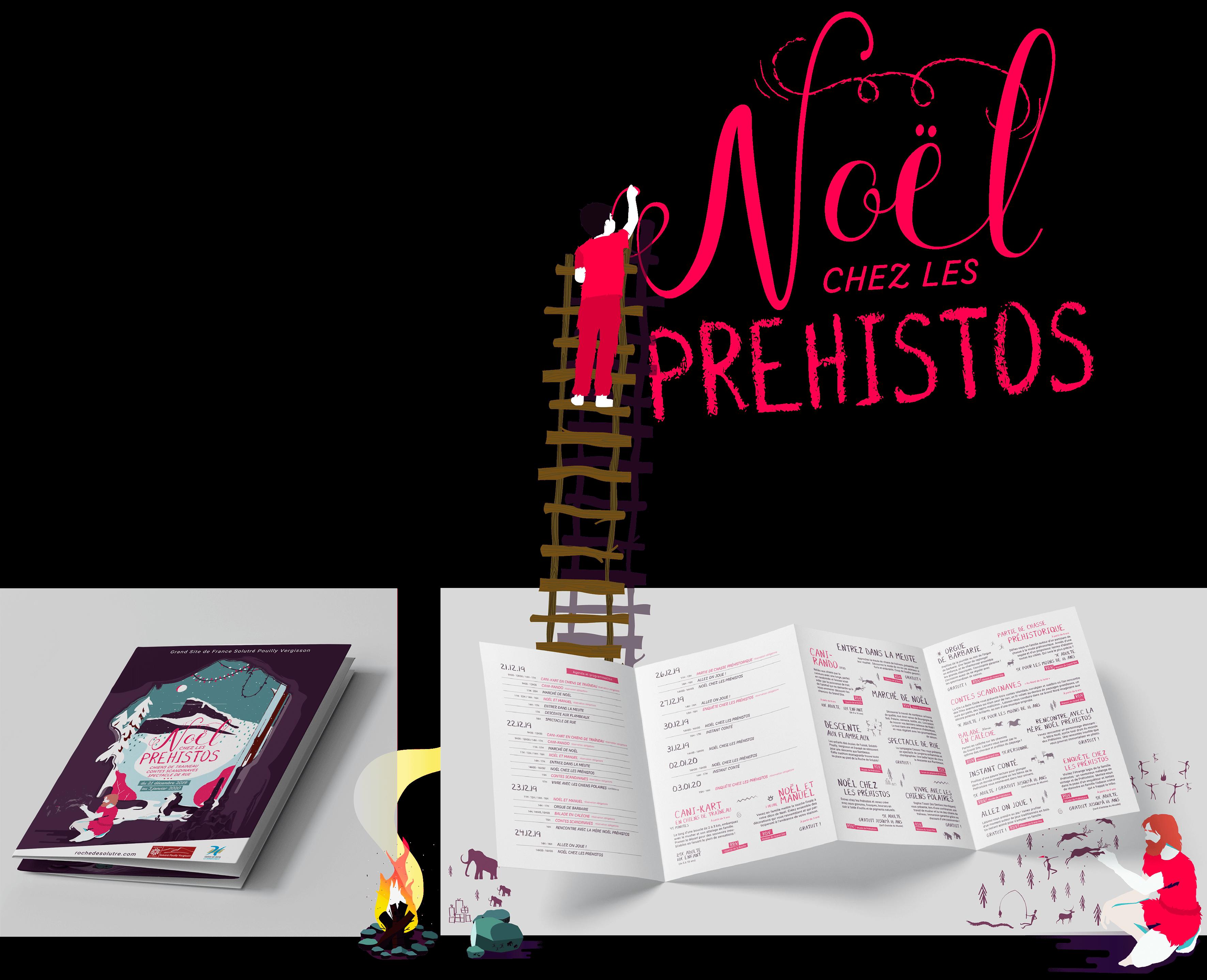 Brochure GRAND SITE SOLUTRE Noel Chez Les Prehistos