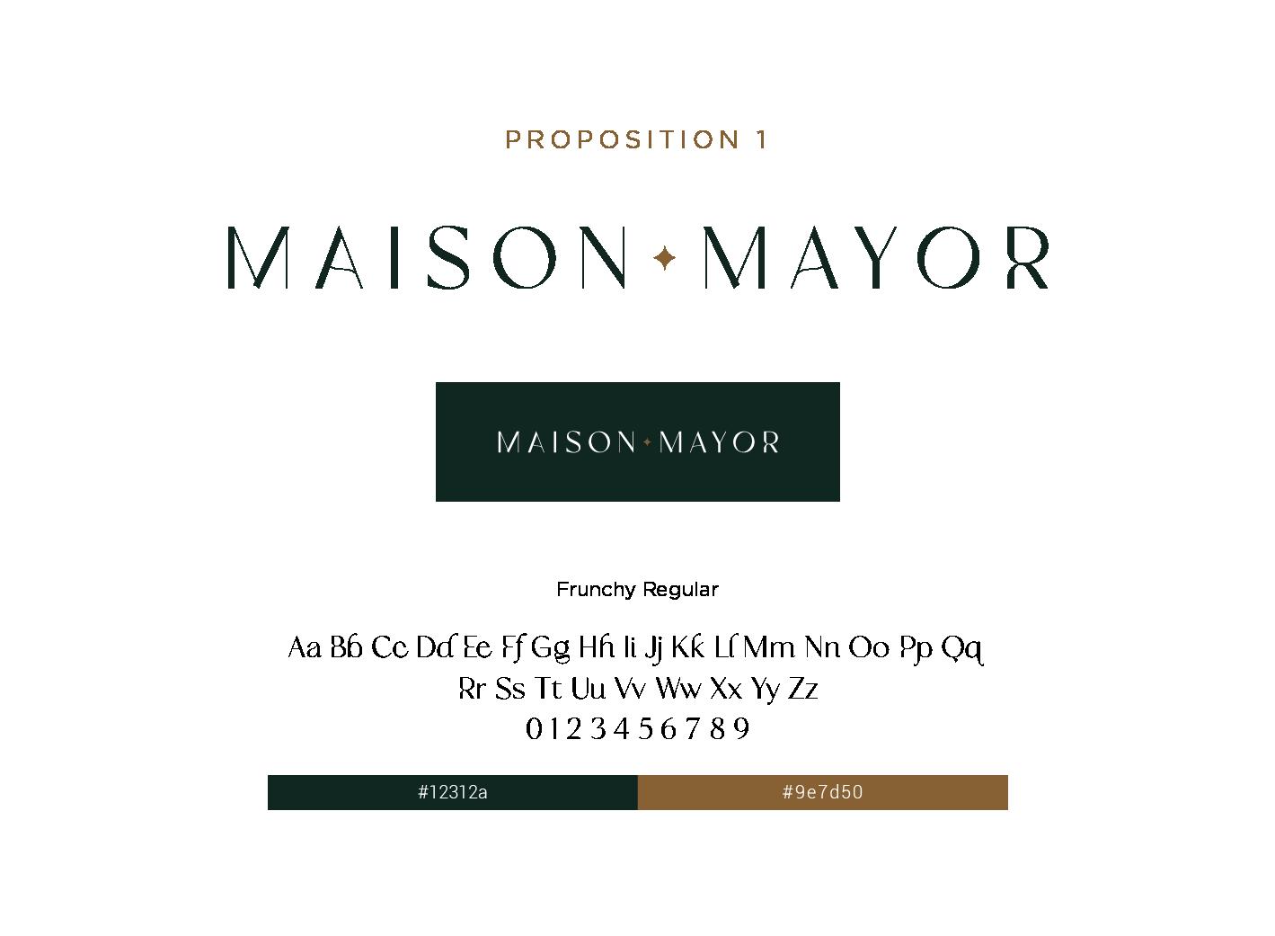 proposition 1 logo maison mayor