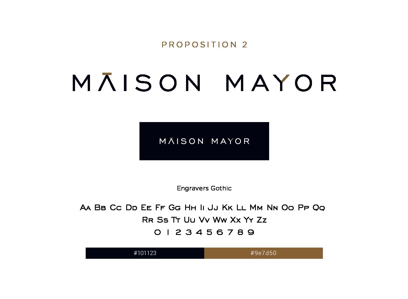 proposition 2 logo maison mayor